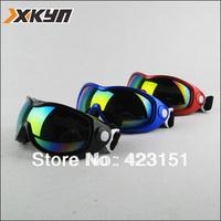 Free shipping,100%UV snowboard Protection  skiing goggles Anti-UV snowboard goggles Glasses Eyewear Lens winter goggles,4 color