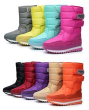 2014 new Boots high-leg boots platform  women snow shoes waterproof boots snow boots !Hot sale(China (Mainland))