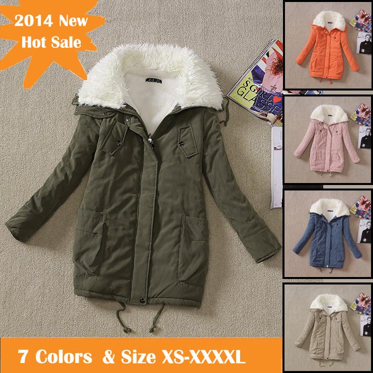 inverno 2014 nuovo delle donne down parka femminile più dimensioni ispessimento giacca calda donne poncho jaqueta casacos feminina cappotti abbigliamento