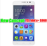 TCL idol X S950 Idol x mobile phones android phones Quad core MTK6589T 5 inch FHD 2GB RAM 13.1MP 100% Positive feedback
