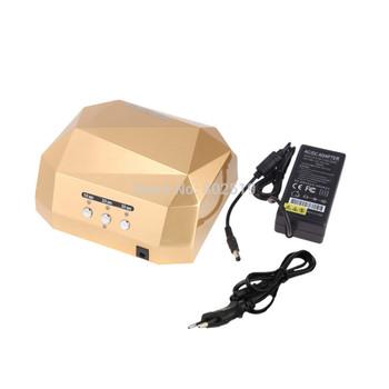 Free Shipping Nail Art  36W CCFL+LED  Nail Dryer  Nail Polish Led Lamp Manicure Nail Led Lamp