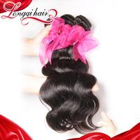 6A 4 Pcs Lot Peruvian Body Wave Hair Weft, No Tangle Peruvian Virgin Hair Bundle Free Shipping Human Weaves Beauty Hair LQPBW017