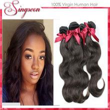 Groothandel peruaanse maagdelijk haar lichaam wave, 3pcs/lot, natuurlijke kleur, 10-28inch grade6a onbewerkte human hair extensions producten