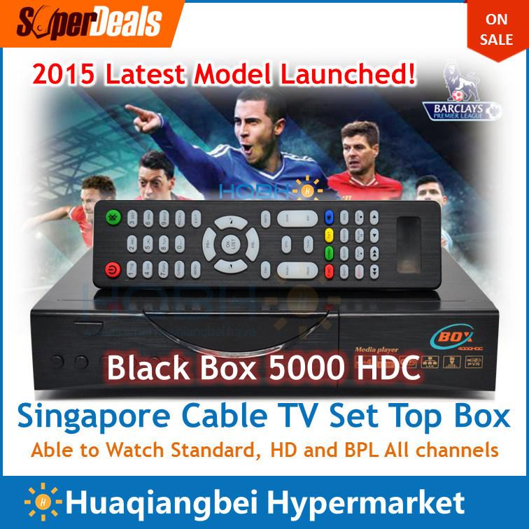 Latest Singapore Starhub Cable TV Set Top Box Black Box HD-C808 Plus upgrade of hd c608 c601 watch nagra3 BPL an
