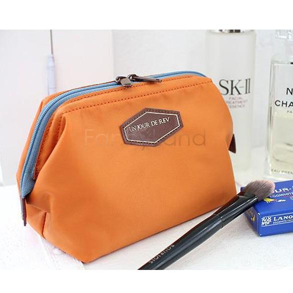 New 2014 Fashion Beautician 4 Colors cosmetic pouch makeup bag women's organizer bag handbag travel bag storage bags 10(China (Mainland))