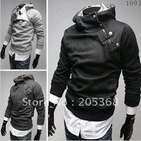 Top Selling High Collar Coat Top Brand Men's Jackets Fashion Men Hoodies Men's Outwears Cool Men's Clothing 4 Colors Size:M-XXXL