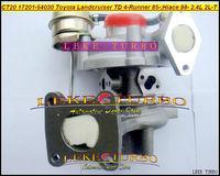 NEW CT20 17201-54030 1720154030 Turbo Turbocharger For TOYOTA Landcruiser TD HILUX HIACE 4-Runner 1985-89 2LT 2L-T 2.4L TD 90HP