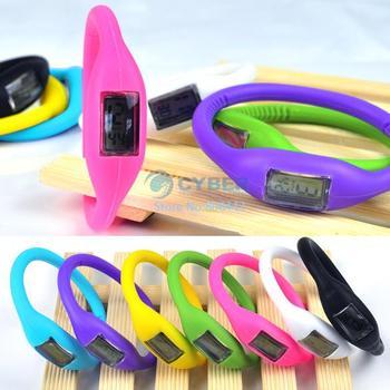 NEW  Anion Unisex Wrist Bracelet Silicon Jelly Sport Watch  dropshippping 3176