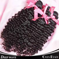 Deep wave brazilian curly virgin hair 4 pcs lot,kinky curly virgin hair no shedding no tangle,free shipping by DHL