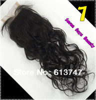 Brazilian Virgin Natural Straight Hair Lace Top Closure 4*4 Virgin Human Hair Lace Closure Hair Products Unprocessed Closure