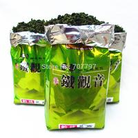2014 Chinese 250g Tikuanyin organic Green Tie Guan Yin tea The health care Oolong vacuum bag weight loss Tieguanyin the tea+gift
