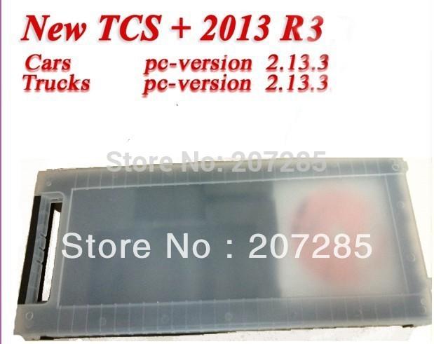 DHL freeshipping 2013.3 R3 TCS scanner pro plus(China (Mainland))
