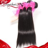 Peruvian Hair Products 3 pcs lot  6A Unprocessed Peruvian Virgn Hair Straight Human Hair Weave Free Shipping Hair Extension