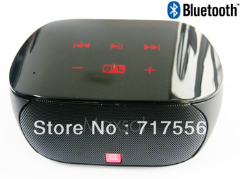 Handsfree Talk,Portable Mini Stereo Wireless Bluetooth Speaker with Touch-screen for ipad iphone Android Laptop.