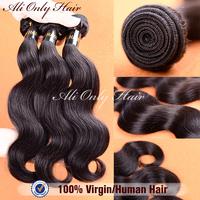 """Rosa Hair Products Malaysian Body Wave 3Pcs Lot 100% Human Hair Extensions Cheap Malaysian Virgin Hair Natural Black Hair 8""""-30"""""""