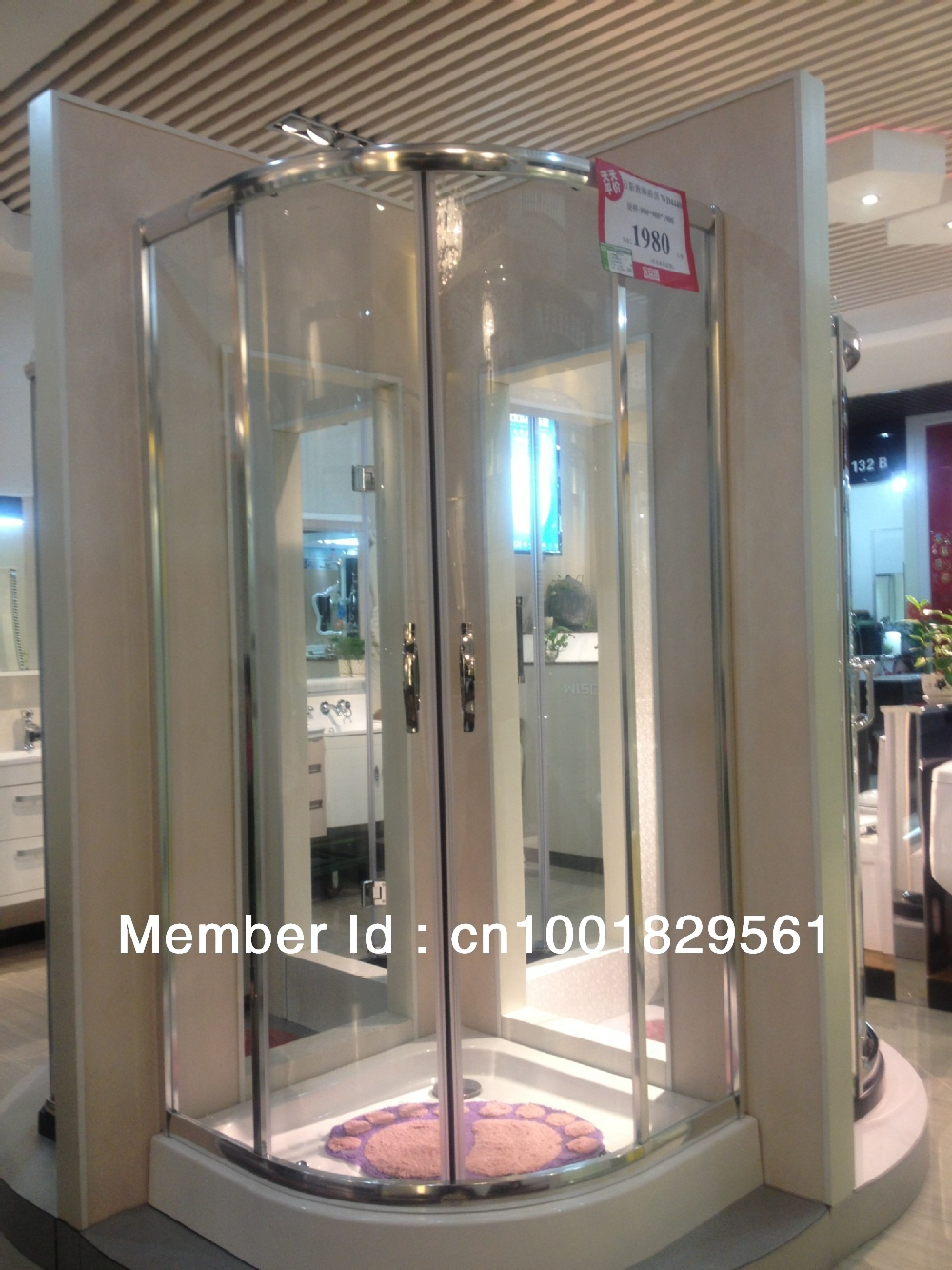 free shipping shower enclosure shower cabin shower room with 900*900(China (Mainland))