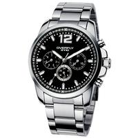 EYKI Overfly 30m Waterproof Quartz Watch for Men/Steel Band Watches Men's Bracelet Wristwatches 2013 New EOV8568AG