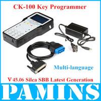 2014 CK 100 Ck100 Pro Professional Auto Key Programmer V45.06  CK-100 Silca Sbb Transponder Programming Machine Car Tool V42.08