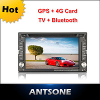 "6.2"" touch Screen Universal DVD Navigator ,within GPS,Bluetooth, Radio ,IPOD ,Media Function"