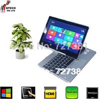 12 Inch Ultrabook Windows 8.1 PRO Touch PC Intel 4GB RAM 500GB HDD Russian Keyboard Spanish vs surface pro Free Shipping