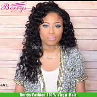 "Berrys hair,6A Deep wave Indian virgin human hair 3pce/lot,12""-28"",natural color cheap price hair Extensions"