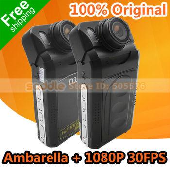 Car DVR , Car Video Recorder Original F500LHD with Ambarella + Full HD 1080P 30FPS + 12MP + MOV + V6.9 T2L-KH | V5.13 T2L-GH
