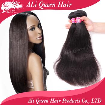6A Brazilian Virgin Hair Straight 3Pcs Unprocessed Human Hair Weave, Soft Virgin Brazilian Straight Hair Weave