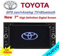 Free shipping:Hilux/Fortuner/Innova/old camry/old corolla/old vios/old RAV4/old Prado-Toyota Car DVD GPS