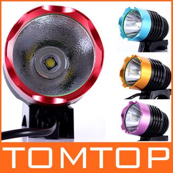 CREE XML XM-L T6 LED Bike Bicycle Light HeadLight HeadLamp 1200LM 9W Free shipping
