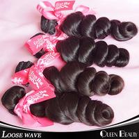 "Unprocessed virgin brazilian hair weave bundles 4pcs/lot,cheap price brazilian loose wave Mixed 12""-30""inch free shipping by DHL"