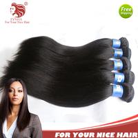 3pc/lot Light yaki human hair extensions grade 6A Brazilian virgin human hair weave 12-30'' for your nice hair DHL free shipping