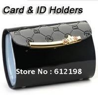 Business Card Case Cash Holder romantic sakura GENUINE LEATHER Business Name Card Holder DR-002 20 PCS DHL FREE SHIPPING