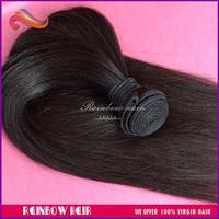 4pcs/lot Natural Straight Hair Weave hair extension 95g~100g/pcs