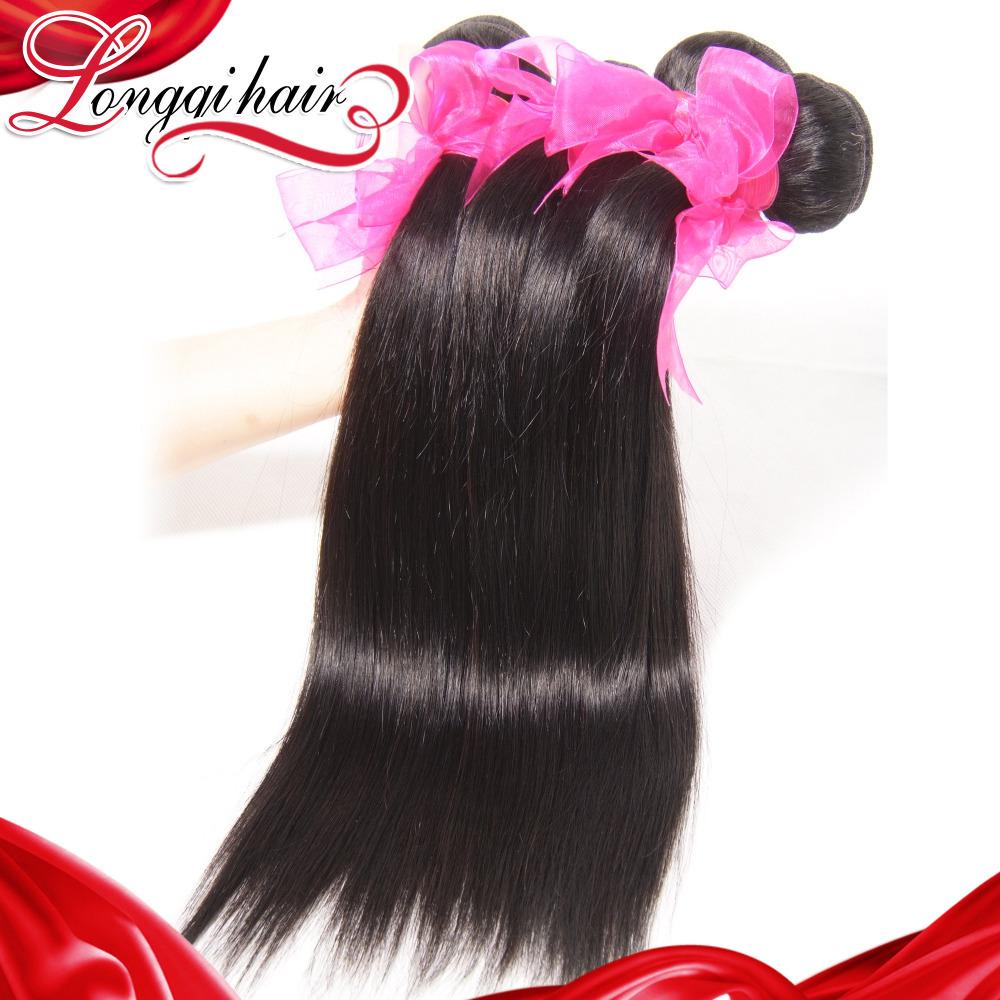3Pcs Lot Mixed Length 8-30 inch Peruvian Virgin Hair Straight Wholesale Human Hair Weave Peruvian Straight Hair Bundles(China (Mainland))