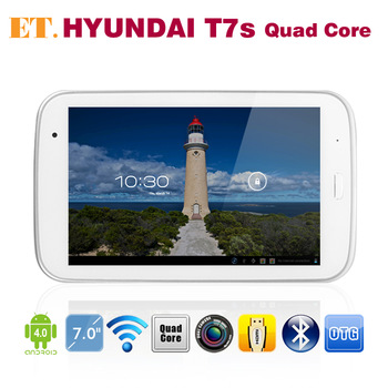Original 7 inch HYUNDAI T7s Android GPS Tablet PC Exynos4412 Quad Core 2GB RAM 16GB IPS Screen Bluetooth HDMI OTG