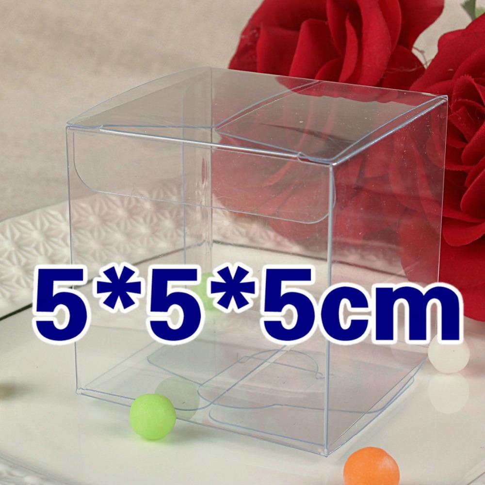 Hochwertige! Ort 5*5*5cm box kunststoff/Cupcake Boxen/stopfbuchse/PVC Box/individuelles logo/100% Garantie/Geschenke& handwerk