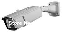 1200TVL varifocal outdoor security camera,Sony Exmor  IMX138 CMOS,4pcs leds,upto 100m IR,6-22mm manual iris HD lens,ICR,OSD