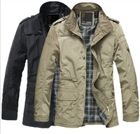 2013 men's coat,fashion clothes,winter overcoat,outwear,winter jacket,Free shipping,wholesale,hot Cotton