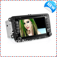 2013 NEW 7&quot; Car DVD Player for VW MTK3360 800MHZ WINCE6.0 TF card 4GB Map GPS 720P ATV Canbus I-Pod FM BT Steering wheel control