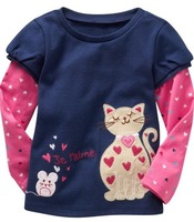 Free shipping children's long sleeve T-shirt for boy and girl wholesale and retail