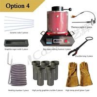 1 kg mini 220V/110V melting furnace, electric gold melting  equipment, can melt gold copper silver option4