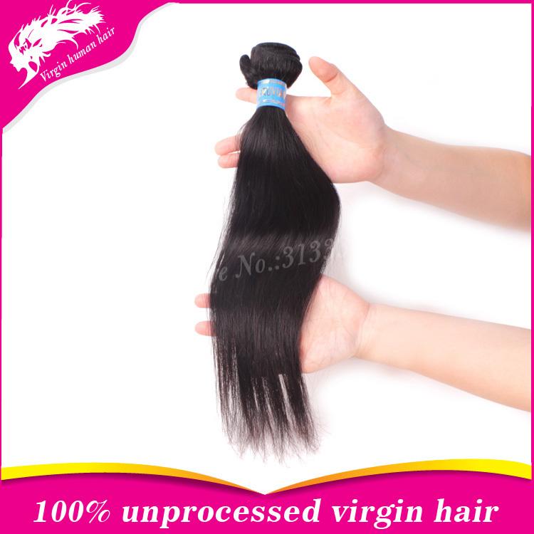New arrival hot selling virgin peruvian straight hair 1pc lot,unprocessed top grade peruvian human hair weave(China (Mainland))