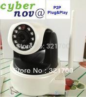 Cybernova CN-WIP604MW  HD  MegaPixel 720P  Pan/tilt H.264 wireless IP Camera supprt 32GB card storage with WiFi +P2P plug&play