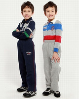 Ok2  Freeshipping 2012 spring autumn children child boy kids cute carton pattern100% cotton trouses sport long pants LCQZ2213