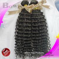 Queen Hair Peruvian Deep Wave Virgin Hair 3Pcs/Lots 12-30Inch 100g Natural Color  Human Hair Extension