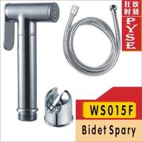Free shipping WS015F brass shower bidet, shattaf set,bidet spray, shattaf bidet spray