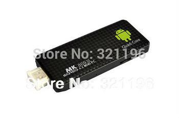 MK809 III RK3188 Quad Core  Android 4.4.2 Kitkat  2GB RAM 8GB ROM with bluetooth MINI PC TV Dongle TV  BOX free shipping