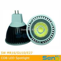 5W COB MR16 Epistar chip LED light 12V 3W 450lm LED spotlight 50W Halogen lamp replacement CE approval CRI>80