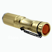 5pcs/lot UniqueFire  UF-V25  Zoom Cree XP-G R5 3 Modes Led Flashlight Torch (1*AA)+Free Shipping