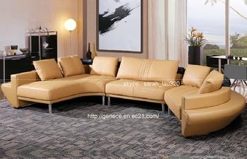 Modern Corner Sofa Design, U Shape Chinese Sofa Furniture, Domestic Leather Sofa Market